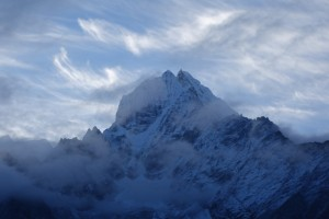 Im Gebiet der hohen Berge